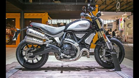 2018 Ducati Scrambler 1100 at EICMA 2017   YouTube