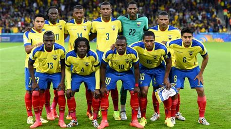 2018 FIFA World Cup Russia   Teams   Ecuador   Profile ...