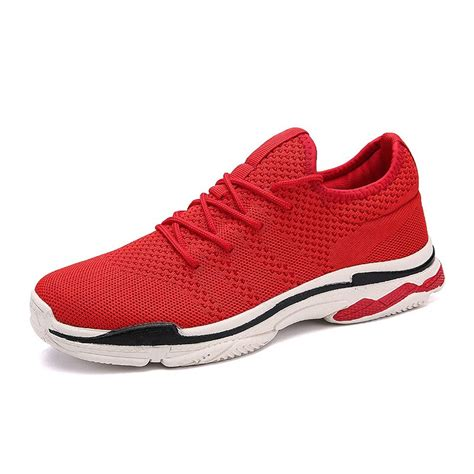 2018 Mens Outdoor Sports Shoes Jogging Shoes Breathable ...