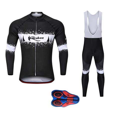 2018 Winter Men 9D Gel Breathable Pad Ropa Ciclismo ...