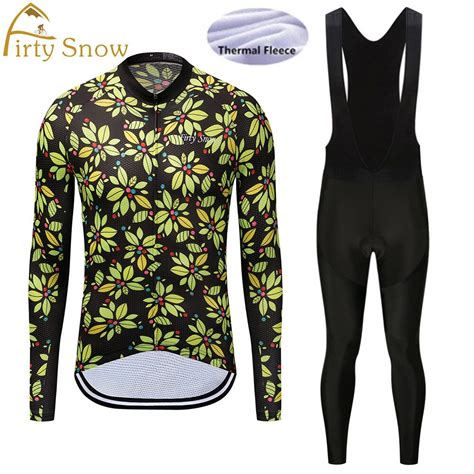 2018 winter thermal fleece cycling jersey ropa ciclismo ...