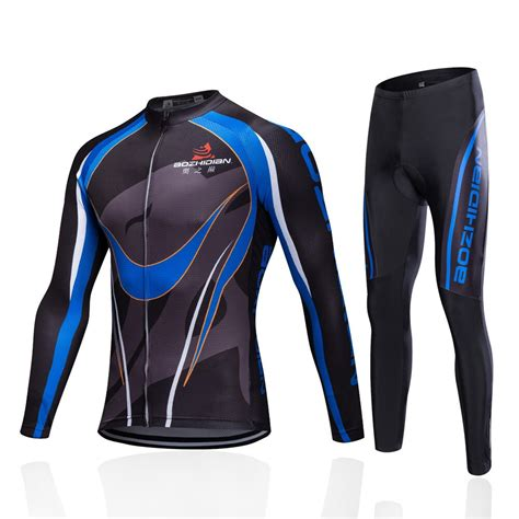 2018 Winter Thermal Fleece Cycling Jersey Set Ropa ...