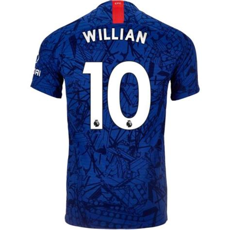 2019/20 Nike Willian Chelsea Away Match Jersey   SoccerPro