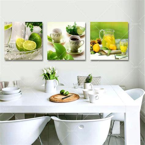 2019 3 Panel Canvas Art Fruits Kitchen Canvas Painting ...