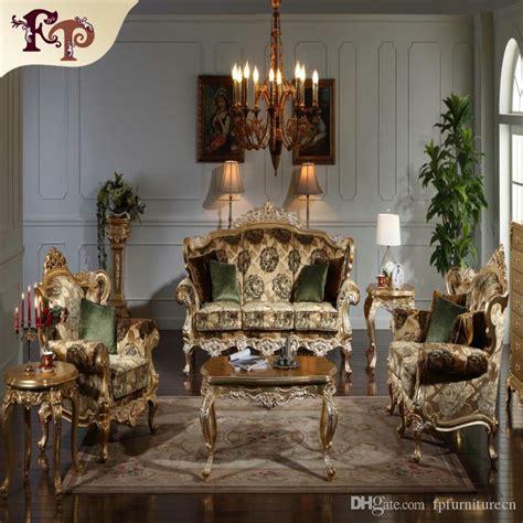 2019 Baroque Classic Living Room Furniture European ...