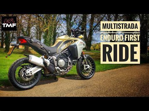 2019 Ducati Multistrada 1260 Enduro Review   YouTube