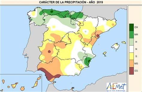 2019 en España: muy cálido y normal en precipitación según ...