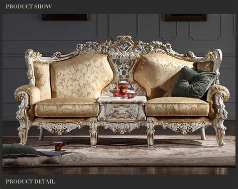 2019 Rococo Style Classic Living Room Furniture European ...