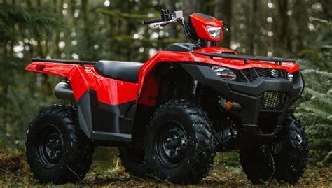 2019 Suzuki KingQuad Lineup Preview   ATV.com