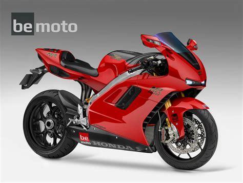 2020 Honda NR1000 V4 Oval Piston concept bike | BeMoto
