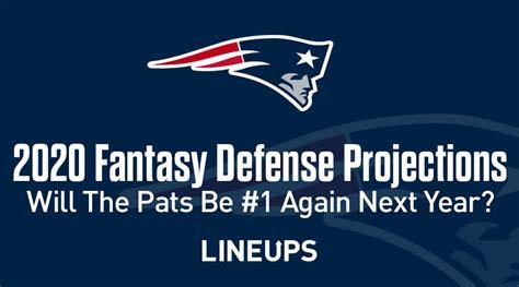 2020 NFL Fantasy Football Defense Projections & Rankings ...