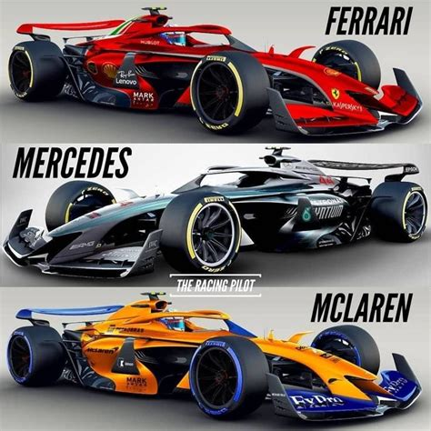 2021 concept cars with new, old and current liveries ...