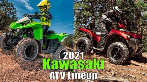 2021 Kawasaki ATV Lineup FIRST LOOK   YouTube