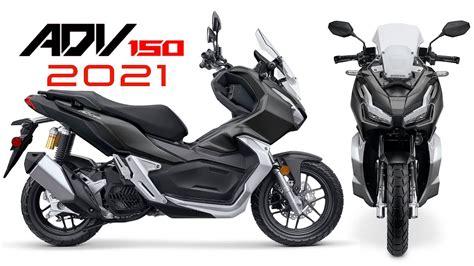 2021 new Honda ADV150 adventure scooter  USA  intro promo ...