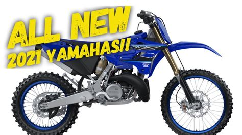 2021 Yamaha Dirt Bike Lineup  Whats new?    YouTube