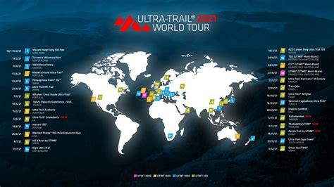 2021年ウルトラトレイル・ワールドツアー Ultra Trail World Tourのシリーズ戦が発表に ...