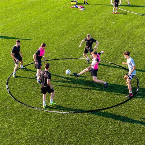 20ft Wide Tiki Taka Soccer Passing Ring   Net World Sports