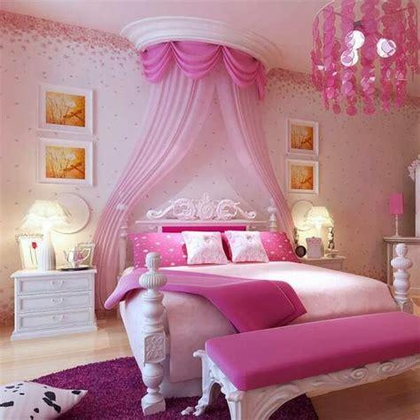 21 Preciosas Habitaciones para Niñas de color Rosa ...
