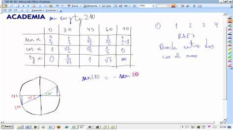 210º Calcular razones trigonométricas relacionando con ...
