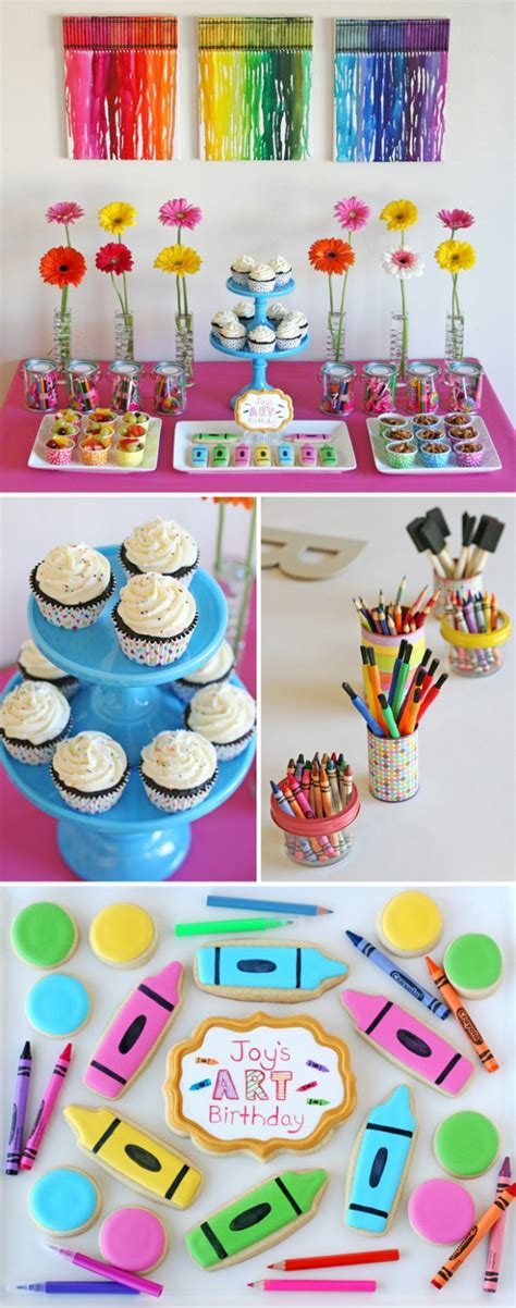 22 Cute and Fun Kids Birthday Party Decoration Ideas ...