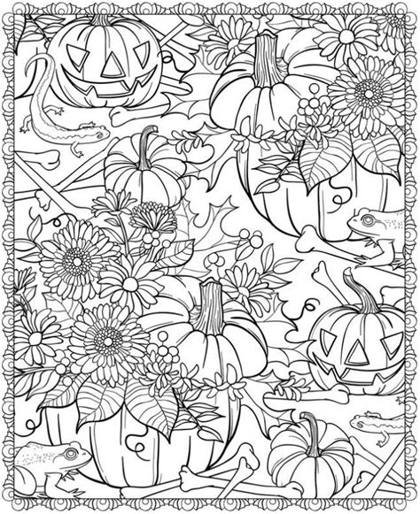 22 Halloween Coloring Page Printables to Keep Kids  and ...