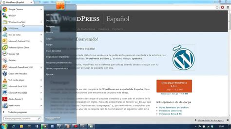 23 Instalación de WordPress en la máquina virtual   YouTube