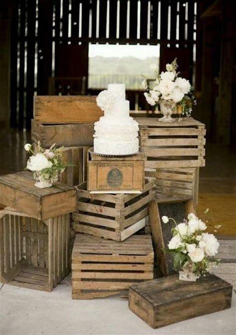 24 ideas para decorar con cajas de frutas una boda ...