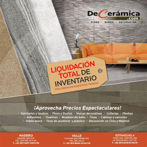 24+ Menudo Tiendas Muebles Liquidacion Por Cierre Imagen ...