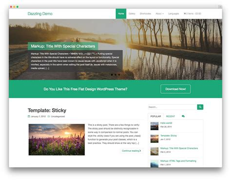 25 Best Free WordPress Themes Built With Bootstrap 2017 ...