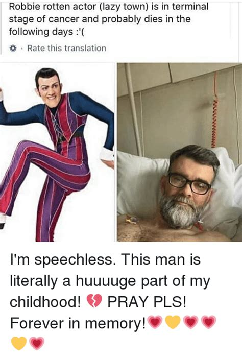 25+ Best Memes About Robbie Rotten Actor | Robbie Rotten ...