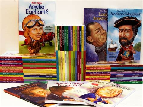 25 Books 1 25 Who Is, Who Was, Series Accelerated Readers ...