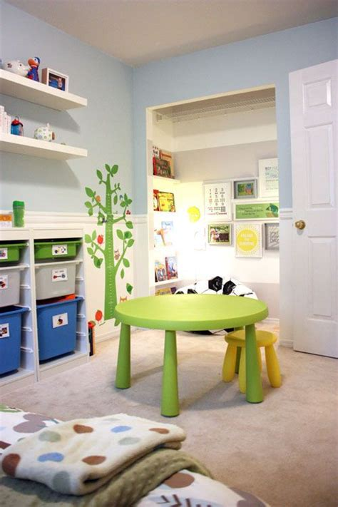 25 Cute IKEA Mammut Stools Ideas For Kids' Rooms   DigsDigs