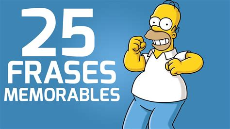 25 Frases Memorables de Los Simpsons   YouTube