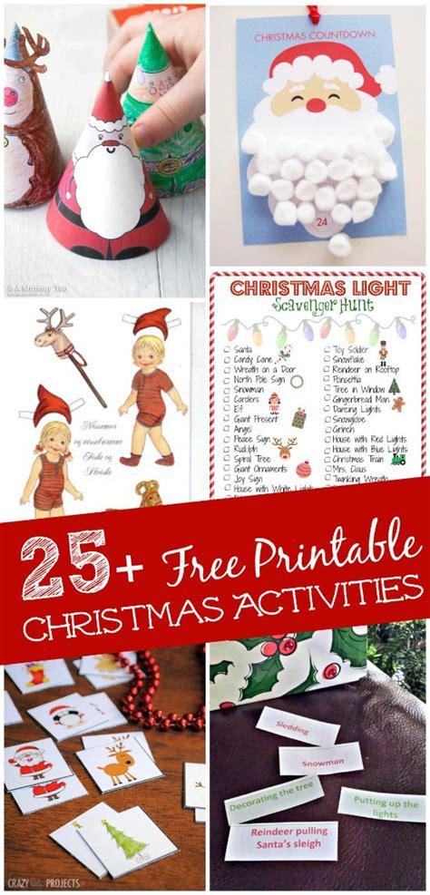 25 Free Printable Christmas Games and Activities ...