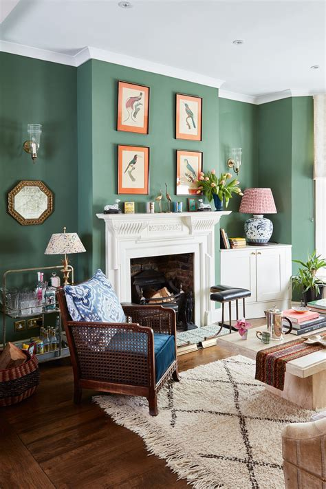 25 green living room ideas that are the perfect spring ...