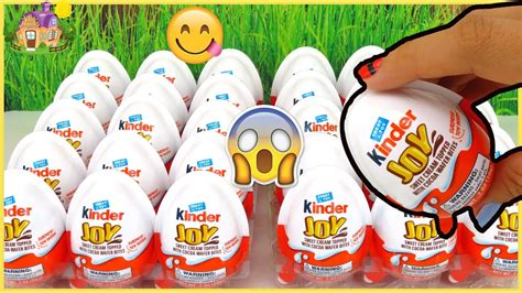 25 Huevos Kinder Joy Huevos con Chocolate y Juguete ...