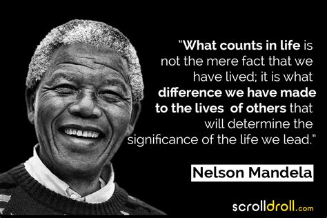 25 Nelson Mandela Quotes On Peace, Leadership, Change & More
