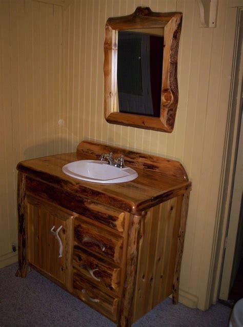 25 Rustic Bathroom Vanities to Make Your Bathroom look ...