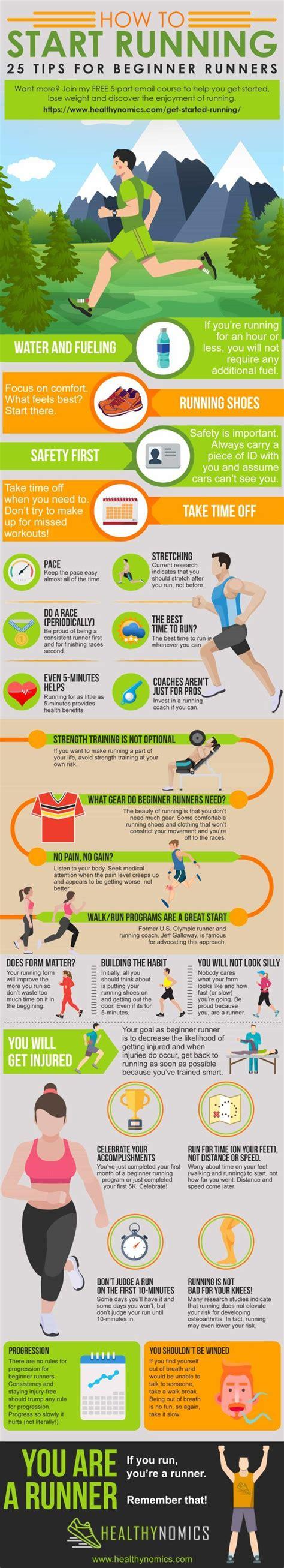 25 Tips for Beginner Runners | How to start running ...