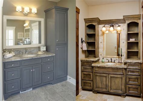 25 Traditional Tall Bathroom Cabinet Ideas To Try ...