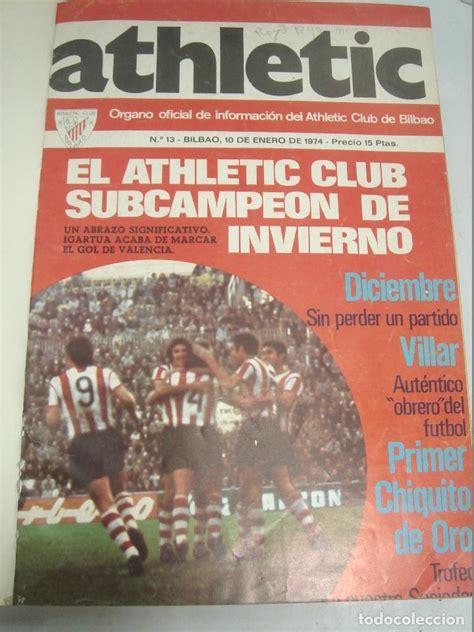 25x revista oficial athletic club de bilbao   d   Comprar ...