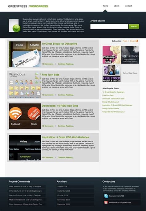 26 Complete WordPress Blog Design Tutorials | Pro Blog Design