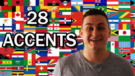 28 Different English Speaking Accents   YouTube