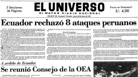 29 de enero de 1981 | Ecuador | Noticias | El Universo