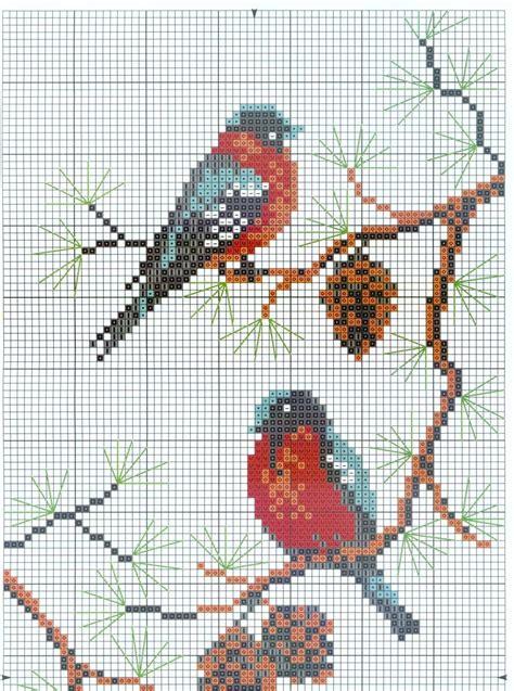 3 7 | BIRDS needlework | Cross Stitch, Crochet cross ...
