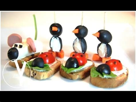 3 Aperitivos Para Niños / 3 Snacks For Kids   YOCOMO   YouTube
