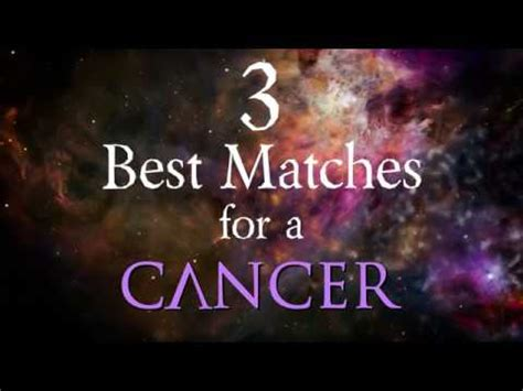 3 Best Compatibility Matches for Cancer Zodiac Sign   YouTube
