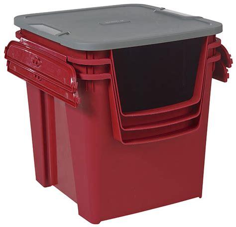 3 cajas de plástico PROTON Ref. 17770326   Leroy Merlin