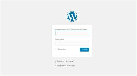 3 Formas de Entrar al Escritorio de WordPress → 【2020】