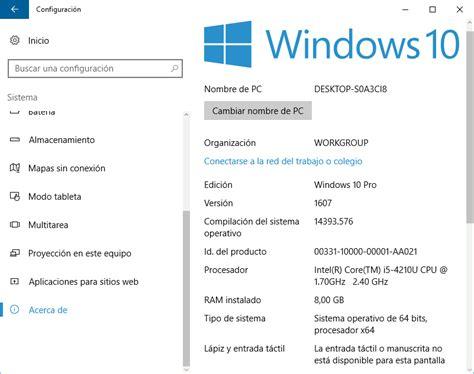 3 Formas de saber las Caracteristicas de tu PC con Windows